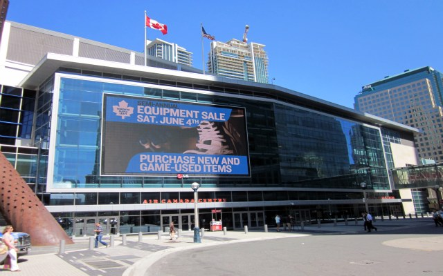 Air Canada Centre - External View