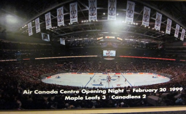 Air Canada Centre (ACC) - Inaugural NHL Game