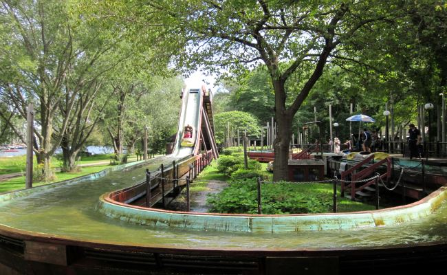 Centreville Amusement Park - Log Flume Ride