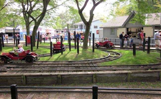 Centreville Amusement Park - Fire Engine