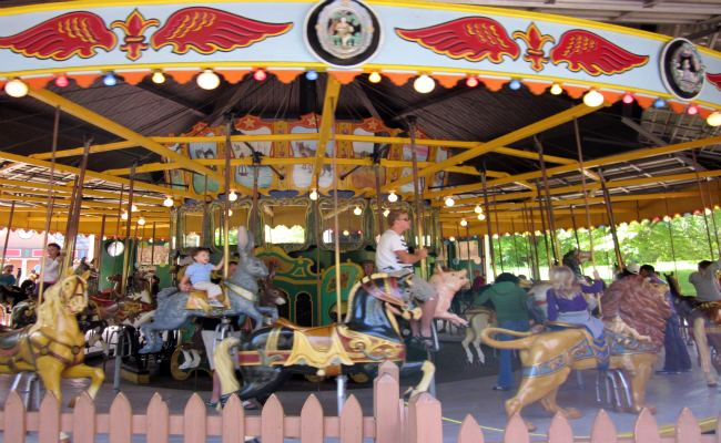 Centreville Amusement Park - Antique Carousel