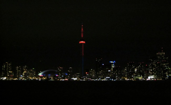 CN Tower - Night Lighting