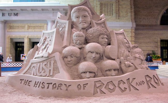 Canadian National Exhibition - Sand Sculpture