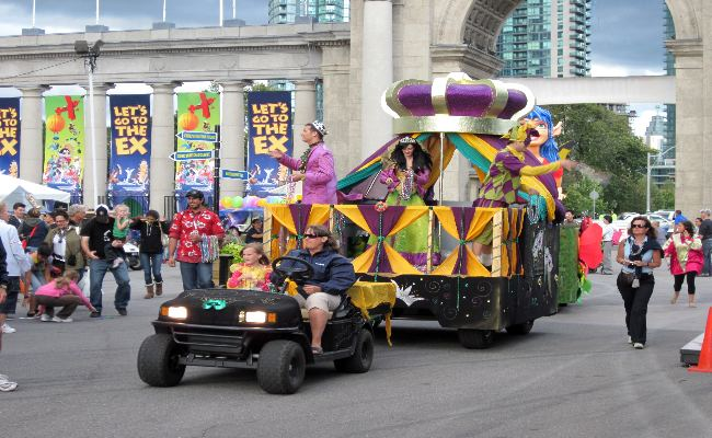 Canadian National Exhibition - Mardi Gras Parade
