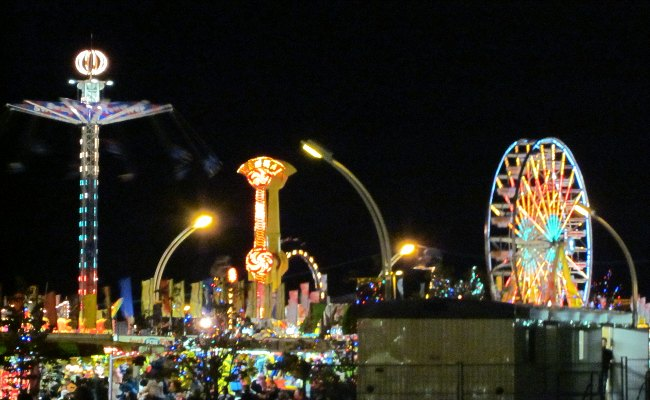 Canadian National Exhibition - Night View