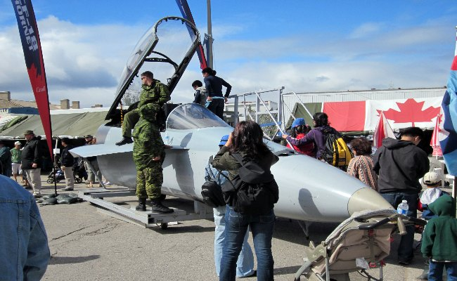 Canadian National Exhibition - CF-18 Fighter Jet