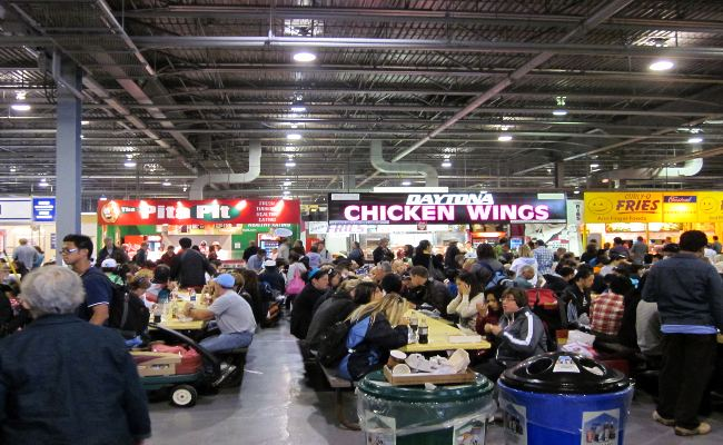 Canadian National Exhibition - Food Stall inside Food Building