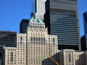 Luxury Toronto Hotels - The Fairmont Royal York