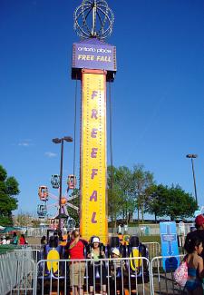 Ontario Place - Free Fall