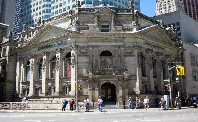 Toronto Hockey Hall Of Fame - Exterior View