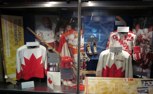 Toronto Hockey Hall Of Fame - World of Hockey Exhibit