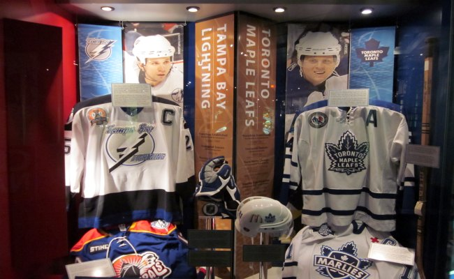Toronto Hockey Hall Of Fame - Toronto Maple Leaf Exhibit