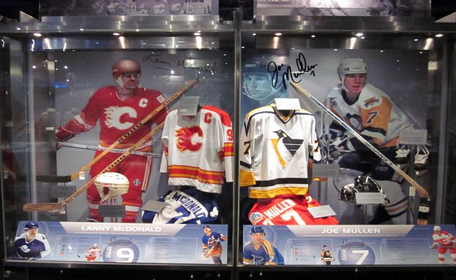 Toronto Hockey Hall Of Fame - NHL Zone Exhibit