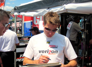 Honda Indy Toronto - Will Power at IndyCar Paddock