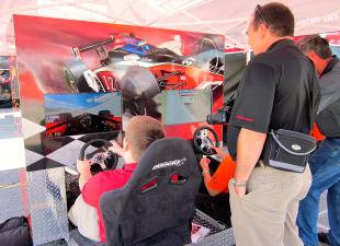 Honda Indy Toronto - Honda Indy Simulator