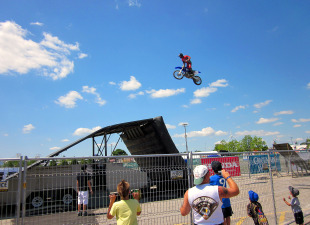 Honda Indy Toronto - Motorbike Stunt