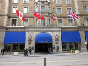Luxury Toronto Hotels - Le Meridien King Edward