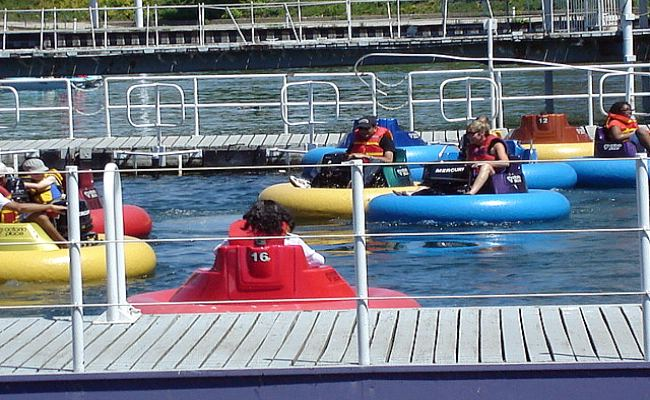 Ontario Place - Bumper Boats