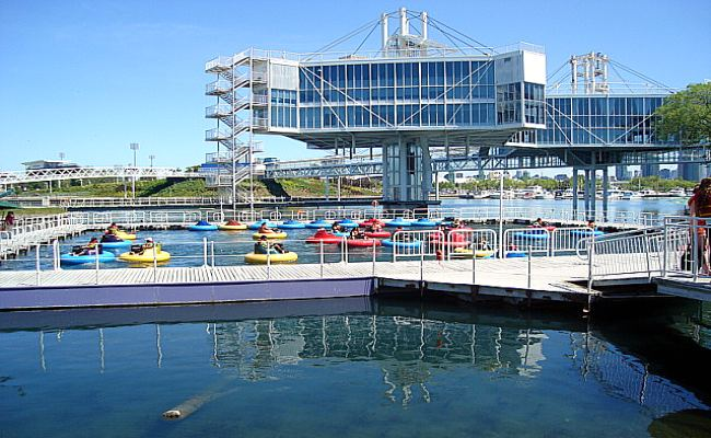 Ontario Place - Steel and Glass Pod