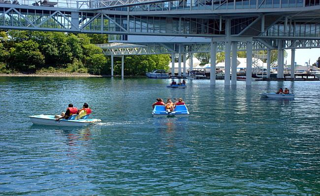 Ontario Place - Pedal Boat
