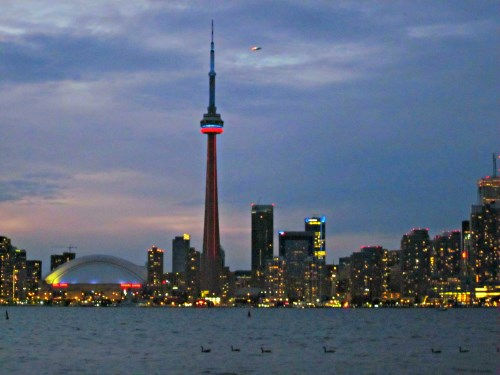 Toronto Dinner Cruises - Toronto Skyline at Night