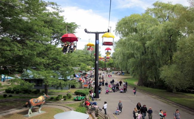 Toronto Islands - Sky Ride, Centreville Amusement Park