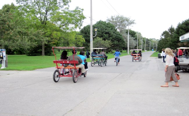 Toronto Islands - Bike Riding