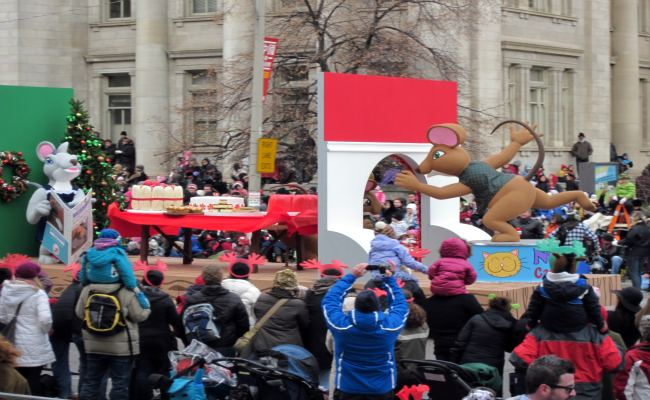 Toronto Santa Claus Parade - Float