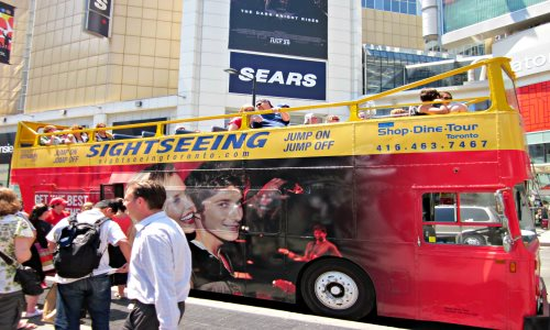 Toronto Tours - Hop-on Hop-off Sightseeing Tour Bus
