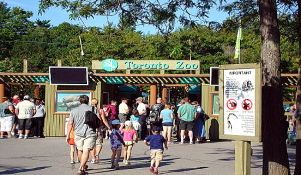 Toronto Zoo - Main Entrance