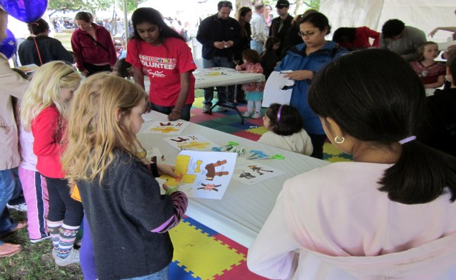 The Word On The Street - Children's Activity Tent