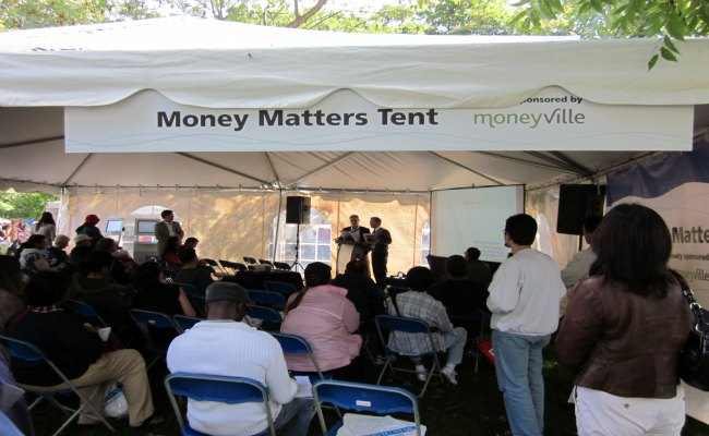 The Word On The Street - Money Matter Tent